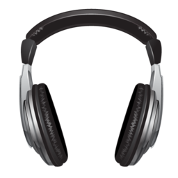 Headphone Icon - PNG Format.