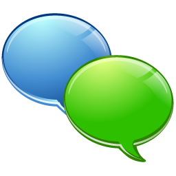 Free Internet Chat Icon Png Ico And Icns Formats For Windows Mac Os X And Linux