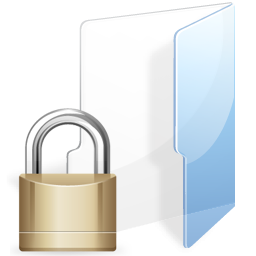 how to create a locked folder on mac