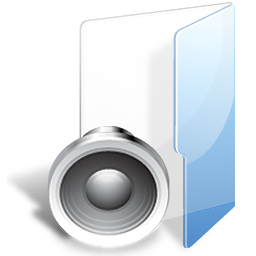 Free Folder Sound Icon Png Ico And Icns Formats For Windows Mac Os X And Linux