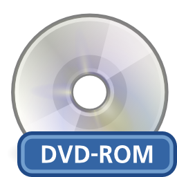 Free Media Optical Dvd Rom Icon Png Ico And Icns Formats For Windows Mac Os X And Linux