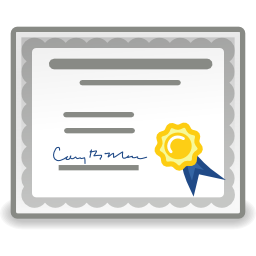 Free Application Certificate Icon - png, ico and icns formats for ...: www.iconattitude.com/icons/ico/8537/application-certificate.html