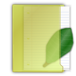 Free Folder Leaf Icon Png Ico And Icns Formats For Windows Mac Os X And Linux
