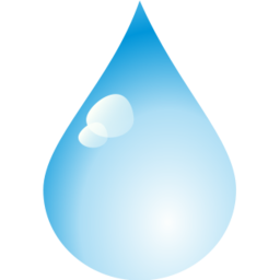 Free Water Drop Icon - png, ico and icns formats for ...