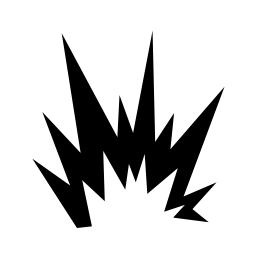 Free Pictograms Aem Explosion General Icon - png, ico and ...