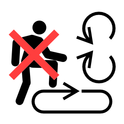 Free Pictograms Aem Never Step On Or Into Area Where Parts Are In Motion Icon Png Ico And Icns Formats For Windows Mac Os X And Linux
