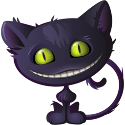 Free Cheshire Cat Icon Png Ico And Icns Formats For Windows Mac Os X And Linux